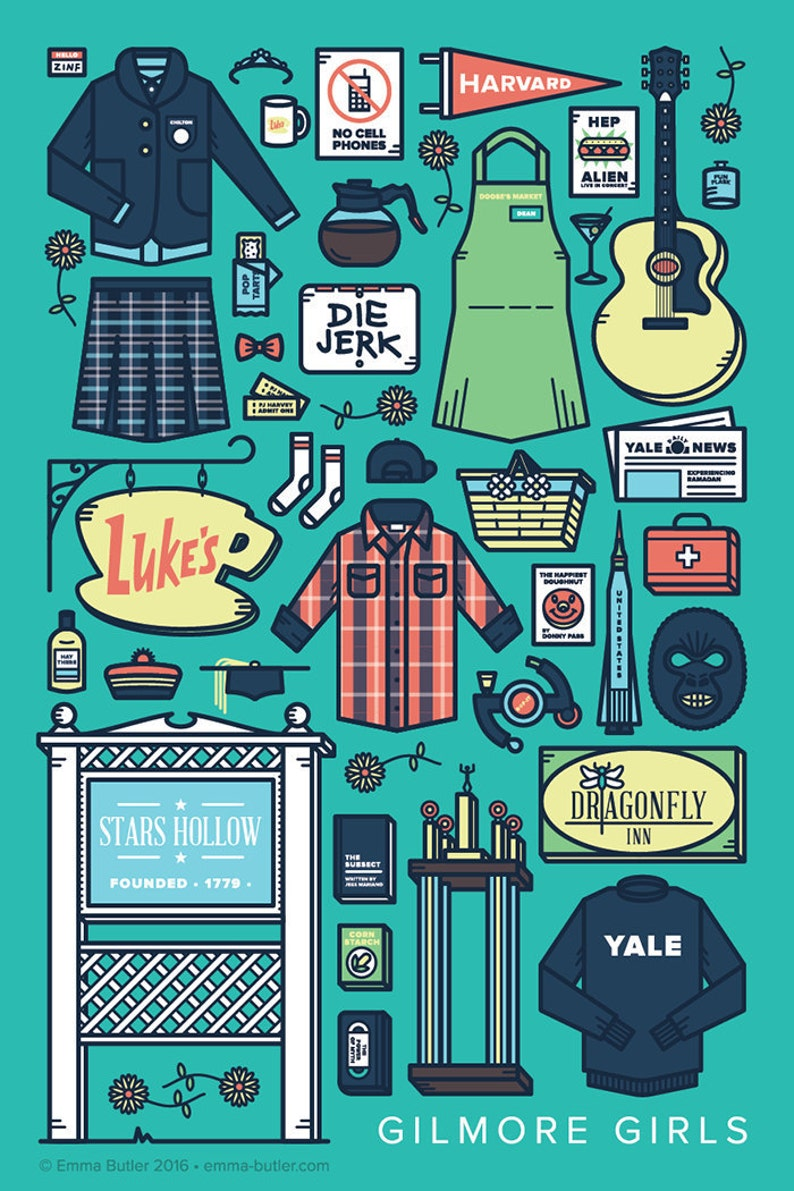 Gilmore Girls  TV Parts Poster image 0