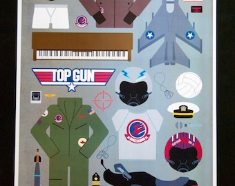 Top Gun • Movie Parts Poster