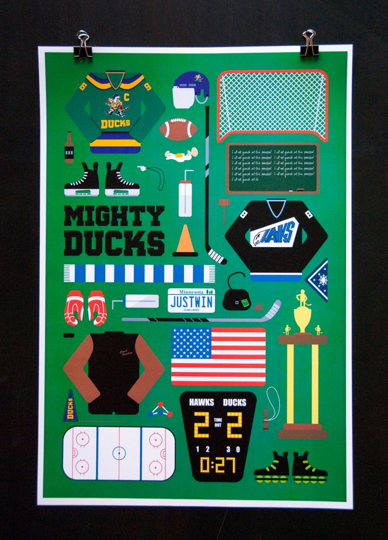 Mighty Ducks  Movie Parts Poster image 0