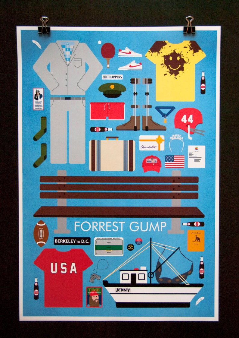 Forrest Gump  Movie Parts Poster image 0