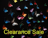 """Wall decoration """"Butterflies MEGA PACK"""", 20 pieces, e.g. peacock butterfly, Brimstone, colorful"""