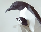 DIY Kit Penguin Mama and Chick by Paperwolf