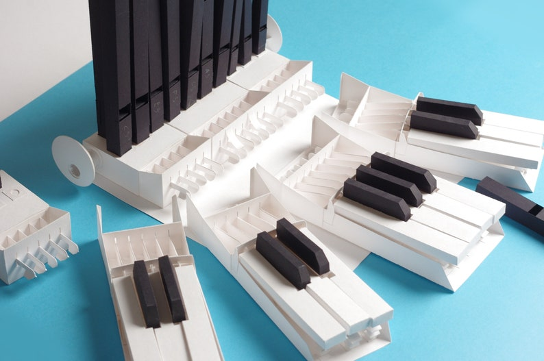 Papercraft kit for World's First Modular Paper Organ. image 0