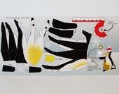 "Postcard ""Mini Penguin"" - Christmas Edition DIY template"