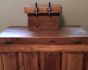 Kegerator, Beer Coolers, Dispensers, Custom Made Kegerators, Home Bar Wood  Furniture, Personalized Bar Furniture, Skaggs Creek Wood Shop