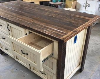 Kitchen Island With Storage, Kitchen Islands With Seating, Rustic, Shabby  Chic, Farmhouse   Custom Kitchen Island, Skaggs Creek Wood Shop