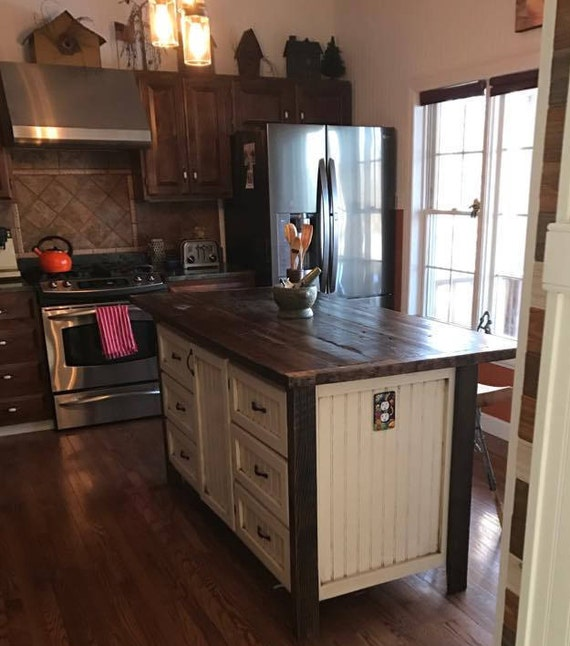 Kücheninsel mit Lagerung Kücheninseln mit Sitz rustikal