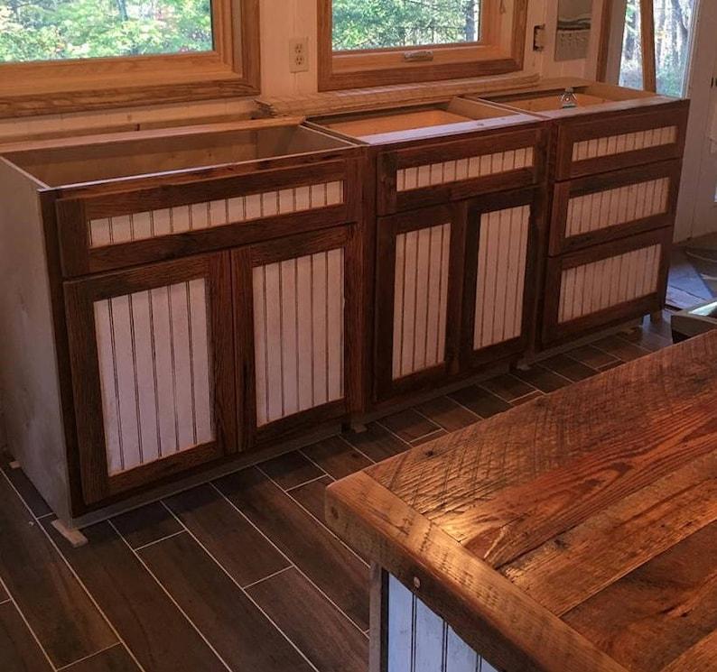 image 0 & Kitchen Cabinet Barn Wood Cabinets Wood Kitchen Furniture   Etsy
