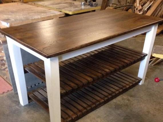 kitchen island with open shelves kitchen storage kitchen. Black Bedroom Furniture Sets. Home Design Ideas