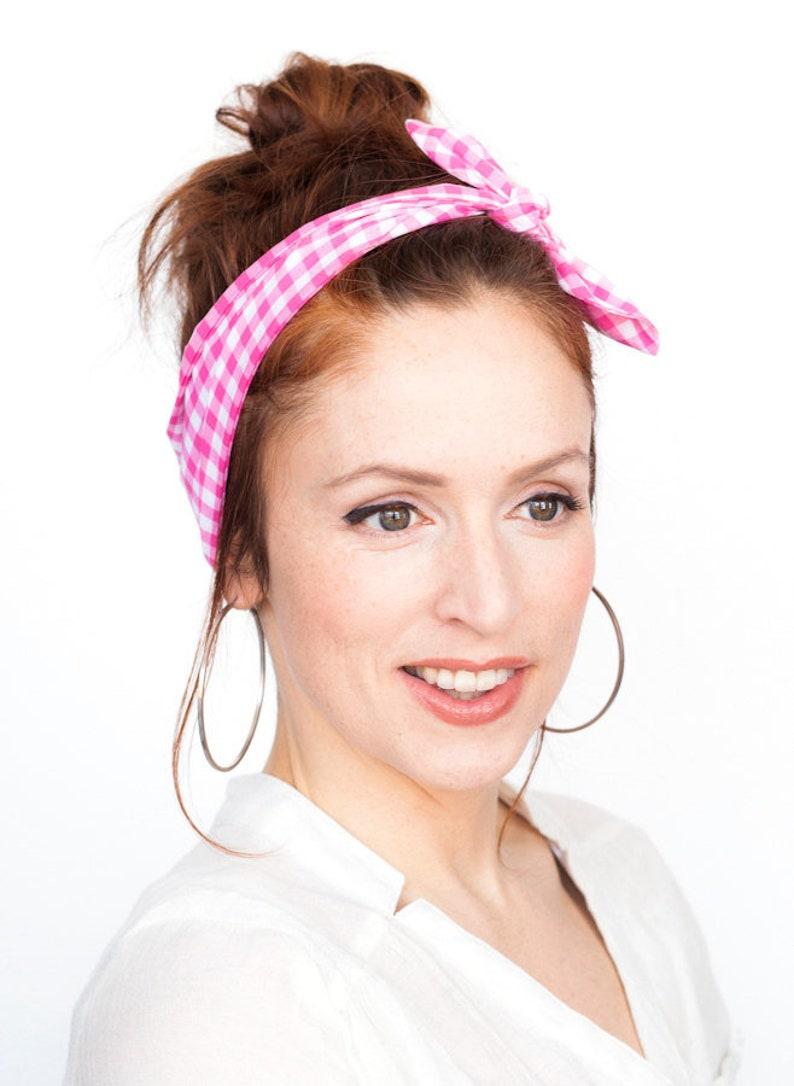 Wrap Rose Haut Femme Cheveux Bandeau Accessoires Pinup Et Noeud Vintage Blanc Tête Retro Etsy Écharpe Dolly Bandana qSMVpUz