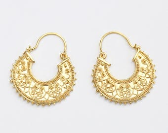 40% Off Filigree Gold Earrings - Earrings for Women - Gifts Ideas - Earrings For Her - Gypsy earrings - Jewelry For Her - Dangle Earrings