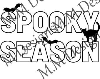 Spooky Season PNG Download Sublimation