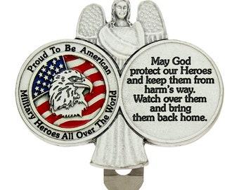United States Marine Logo Brass Money Clip Pocket Cash Holder Proud honorable