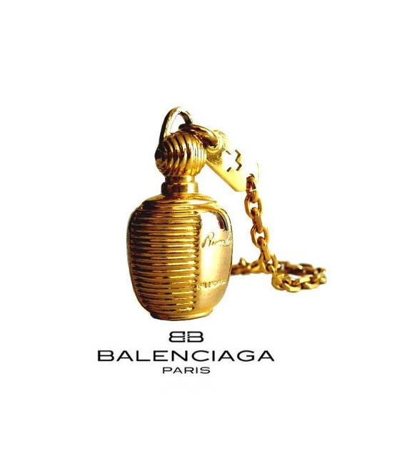 BALENCIAGA ~ Authentic  Vintage Bottle Perfume Key