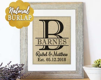 Rustic Gifts Personalized Gifts Wedding Gifts for Couple Bridal Shower Gift for Women Mr and Mrs Wall Wall Decor Personalized Wedding Signs