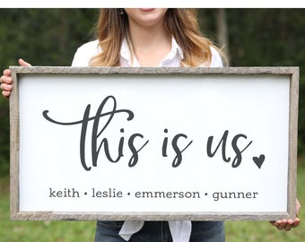 Fathers Day Gift for Husband Gift from Wife Birthday Gift for Dad Gift Personalized Fathers Day Gift from Daughter Farmhouse Wood Sign