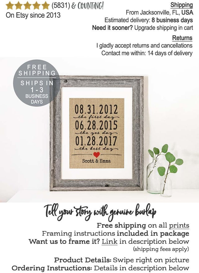 Personalized Wedding Gifts For Couple Husband Gift For Husband