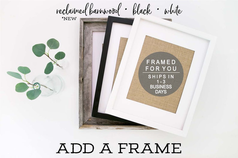 Frame Add-On by KNOTnNEST for 5 x 7 8 x 10 and 11 x 14 print image 0