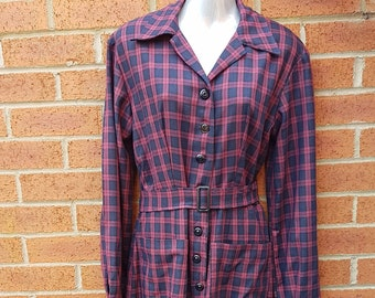 WW2 Style Siren Suit, Home Front, 1940's, Theater, Reenactment