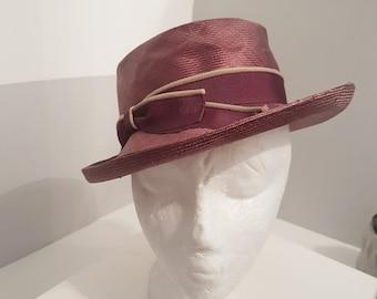040c94b9d499c Vintage 1940 s style Hat