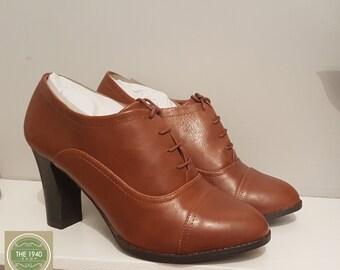 6539c0b0cad314 Ladies Brogue Shoes