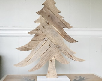wooden christmas tree rustic holiday decorations - Etsy Christmas Decorations