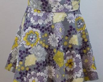 Girls Flower Skater Skirt