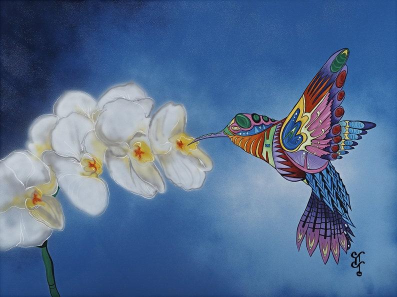 NURTURING HUMMINGBIRD I. image 0