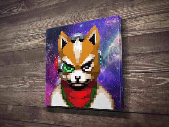 Fox Mccloud Star Fox Canvas Print