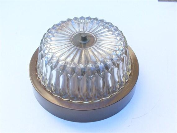 Plafoniere Da Soffitto Vintage : Un soffitto lampada vintage in ferro plafoniera metallo etsy