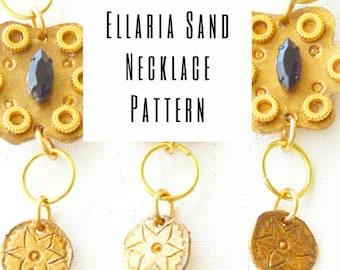 Ellaria Sand Necklace Pattern (PDF download)