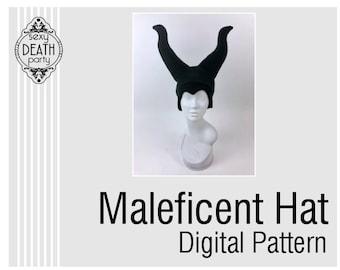 Maleficent Hat Digital Pattern