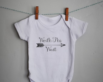 47f94514b Worth the wait onesie outfit