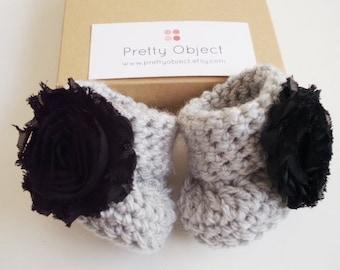 Baby girl gift Crochet baby booties Baby shower gift Baby girl shoes Newborn baby shoes New baby gift Crochet newborn shoes Photo prop
