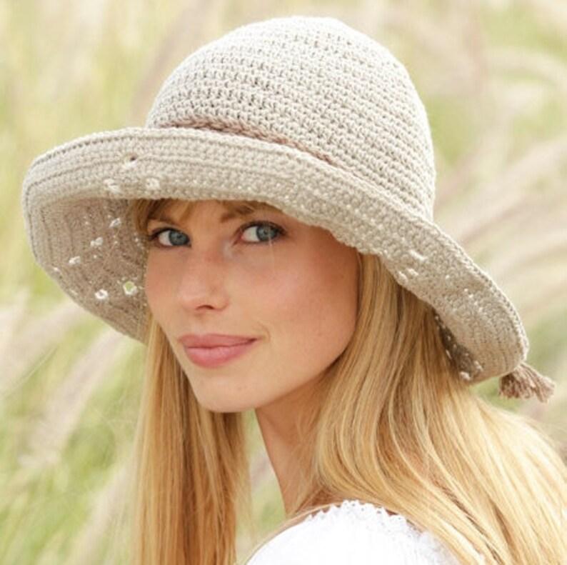 0b838d0f6 Summer hat Sun hat Beach hat Spring fashion Cotton hat Bucket image 0 ...