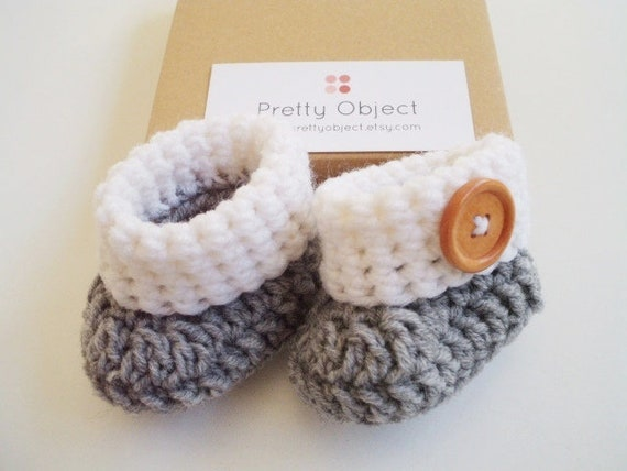 Pdf Crochet Pattern For Beginners Baby Booties Baby Shoes Baby Etsy