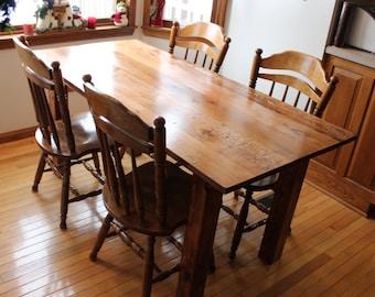 Farm Style Dining Table