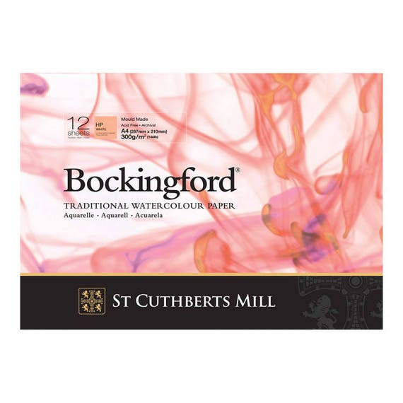 bockingford water colour paper A4 20 Sheets