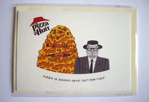 Pizza The Hutt Card