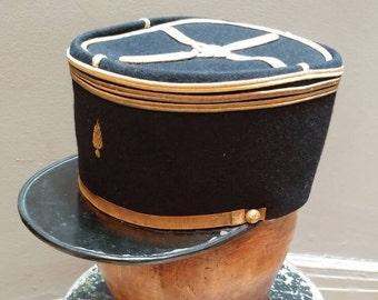 3973c2145362d WWII French Captain s Naval Kepi Cap