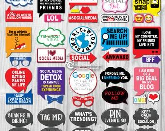 Social Media Props Etsy