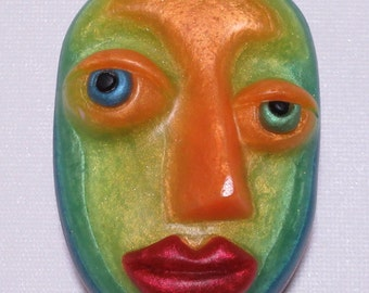 Be You tiful People, rainbow-colored female face soap