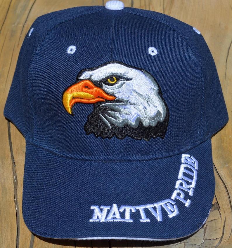 27248efbc04 Ball Cap with Native American Design featuring Native Pride