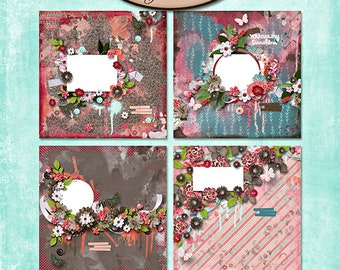 Digital Scrapbooking, Quick Pages: Brighter Days
