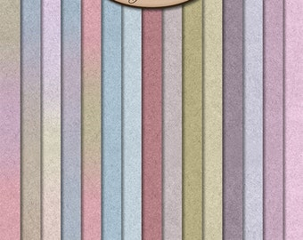 Digital Scrapbooking, Solid and Ombre Paper: Memories Of Home