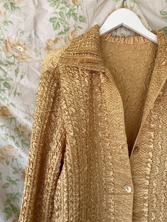 Gold Vintage Shirt/Jacket - image 2