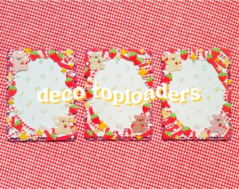 NEW DESIGNS! Decorated Photocard Toploaders (various designs)
