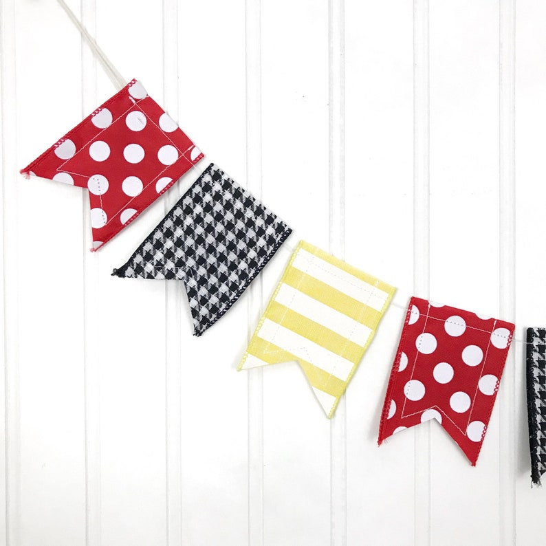 Disney-inspired Mini Banner Mini Banner Mickey Mouse Minnie image 0