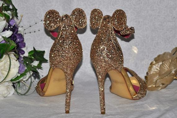 Disney Wedding Shoes Mickey Mouse Ear