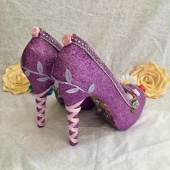 Disney Rapunzel Shoes Luxury Princess